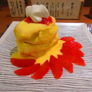 カウンター席の職人パンケーキ専門店『紅鶴』がオススメ🍊※詳細情報あり