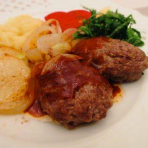 松喜のお肉でハンバーグ🍔浅草名物のお肉屋さん🍖※詳細情報あり
