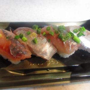 角上魚類のお寿司がどうしても食べたくて。一番お得なお寿司はコレ💕